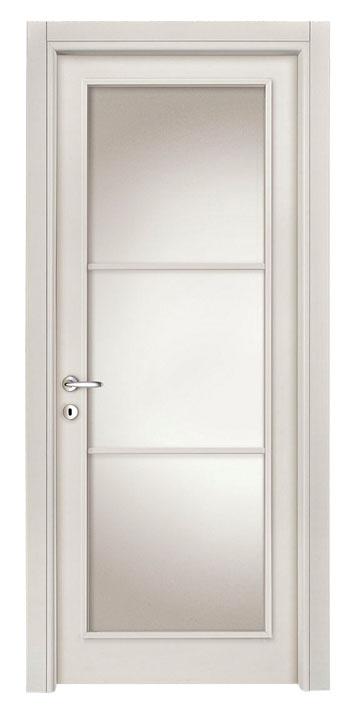 Laminato Bianco mod. 120 - 3 vetri